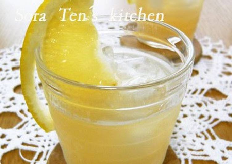 Step-by-Step Guide to Prepare Top-Rated Grapefruit Ginger Ale for Healthy Summer Skin