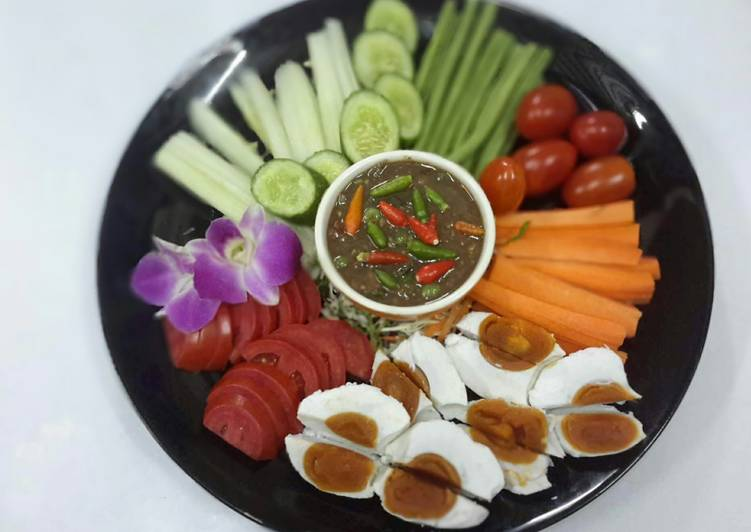 Thai Shrimp Paste Chile Sauce / Naam Prik Kapi