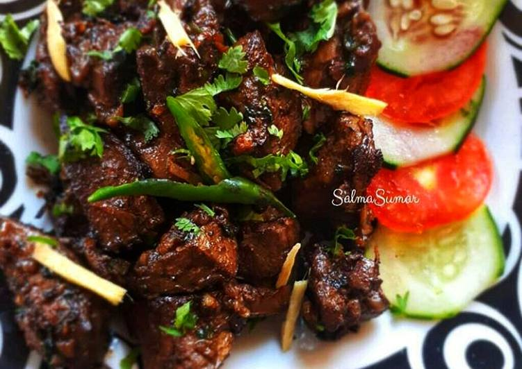 Step-by-Step Guide to Make Perfect Yummy Kidney & liver #jikonichallenge