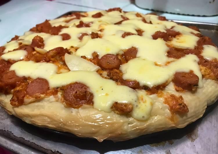 Pizza rumahan by dapoer mpok yeyen