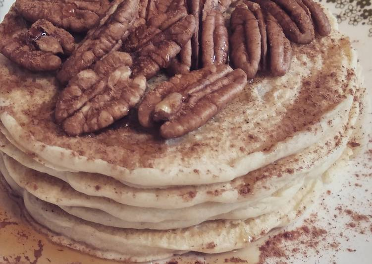 Recipe: Appetizing Easiest Vegan Pancakes Ever