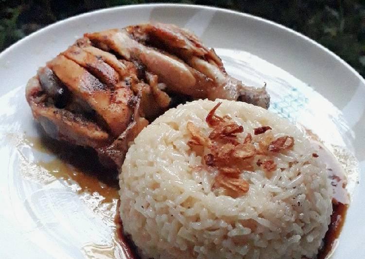 Nasi Hainan (Recooked Tasty Recipe)