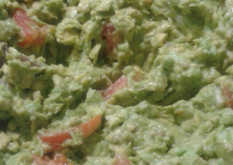 Easiest Way to Prepare Homemade Homemade Guacamole