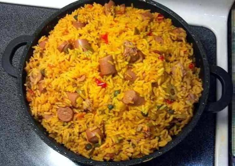 Quick Puerto Rican Rice
