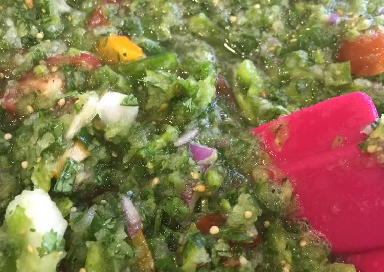 Recipe of Award-winning Tomatillo Salsa