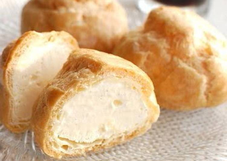 Cold and Smooth Choux Ice Cream