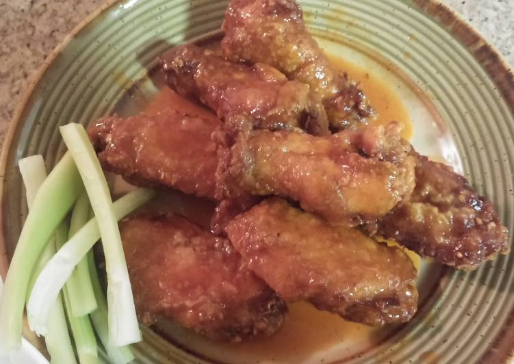 Recipe of Any-night-of-the-week Sweet & Spicy Buffalo Wings