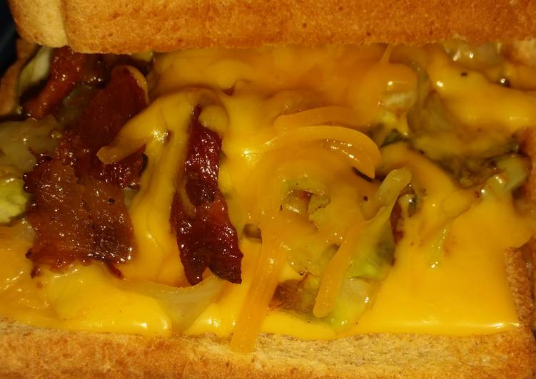 Easiest Way to Make Delicious Grilled Cheese Cabbage Sandwich