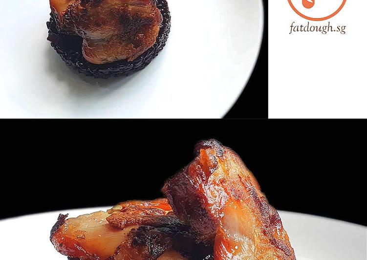 Chicken Confit Black Rice