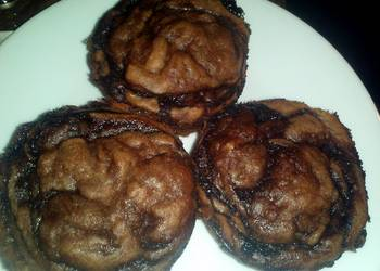 How to Cook Appetizing BananaNutella Muffins