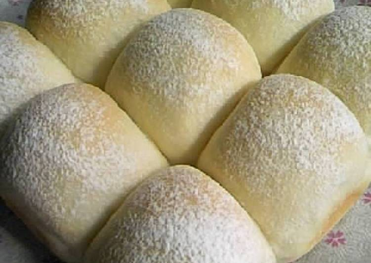 Step-by-Step Guide to Prepare Favorite Rice Flour White Bread Rolls (with Condensed Milk)