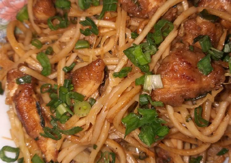 Easiest Way to Make Tasty Full Chicken hakka noodles