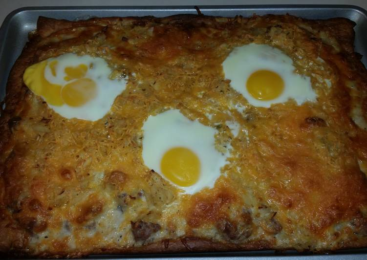 Country Breakfast Pizza