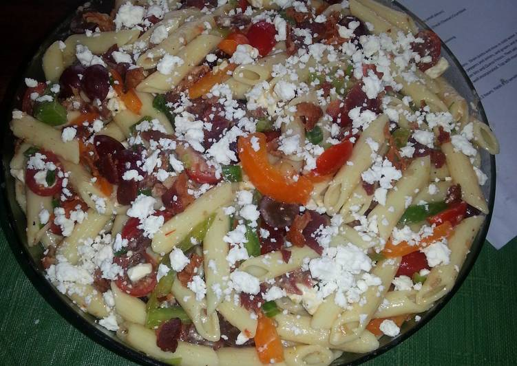 Primavera Penne Pasta Salad