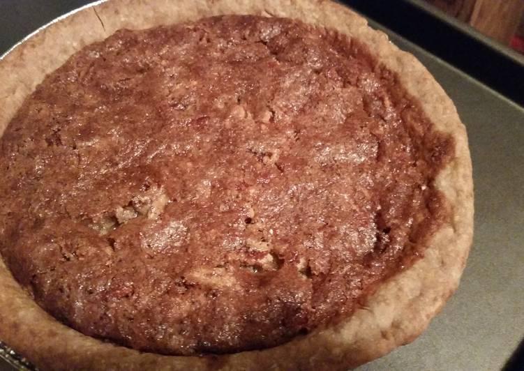 Blondie's Mom's Maple Pecan Pie
