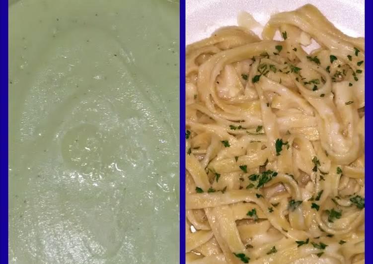cauliflower Alfredo sauce