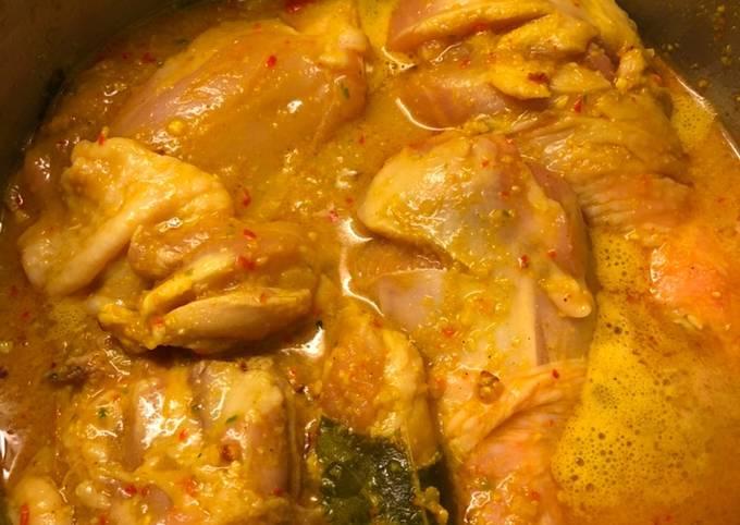 Ayam Woku Manado (Resep Chef Juna di YouTube William Gozali)