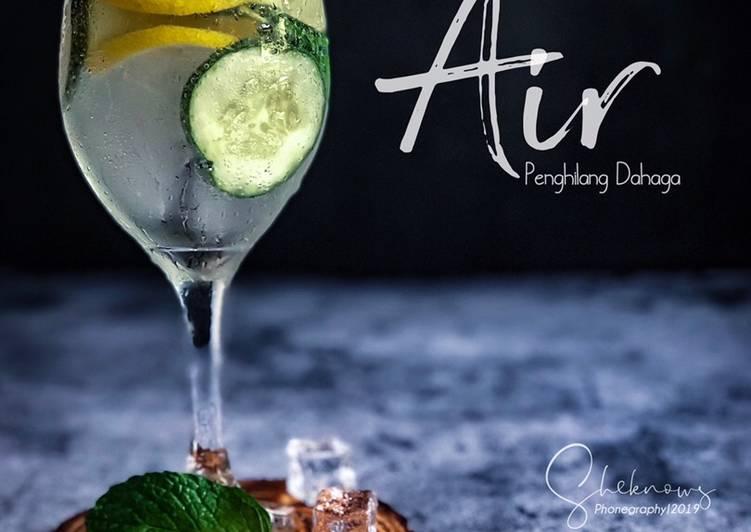 Soda Refreshing Drink  #maratonraya #minuman #minggu2 - resepipouler.com