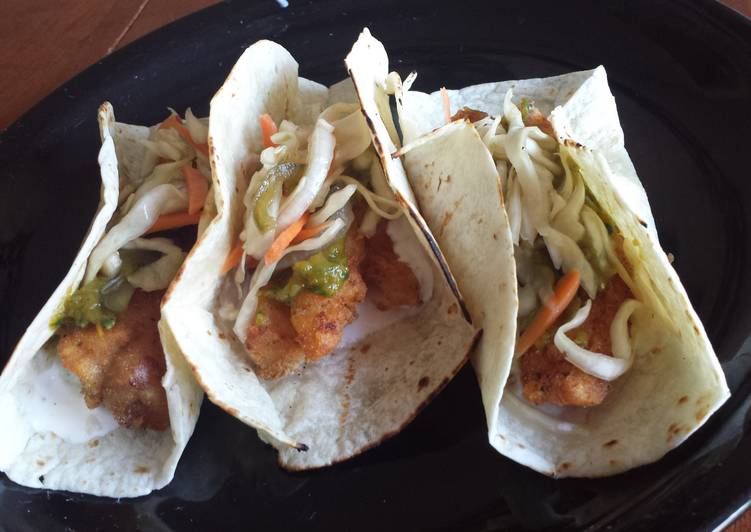 How to Make Appetizing Fish tacos