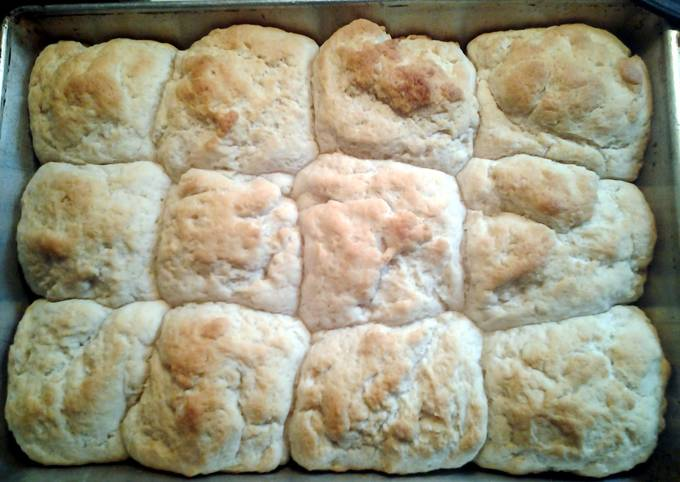 Grans easy homemade biscuits