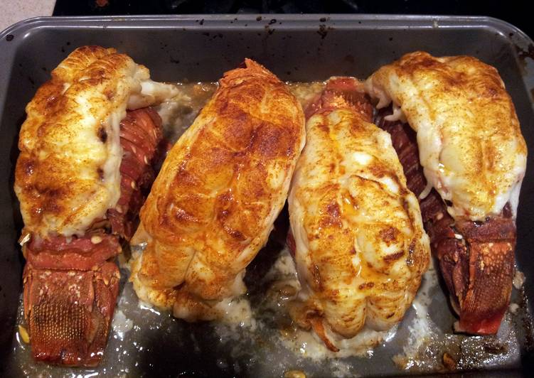 Easiest Way to Make Ultimate Baked Lobster Tail