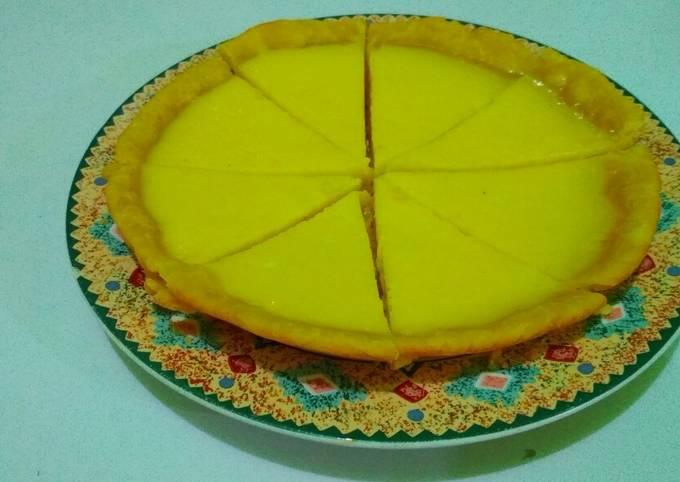 Resep Pie Susu Teflon Ekonomis (takaran sendok) Sederhana dan Mudah Dibuat