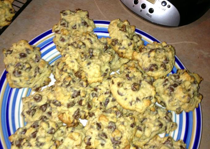 Secret to Baker Yummy oatmeal chocolate chip cookies