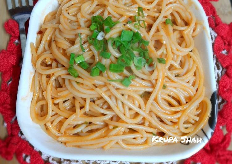Easiest Way to Prepare Delicious Spaghetti aglio e olio