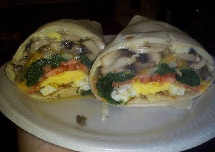 Awesome Deluxe Breakfast Wrap