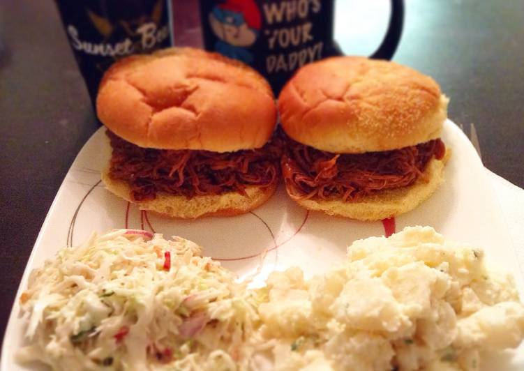 Steps to Prepare Any-night-of-the-week Easy Peasy Pulled Pork
