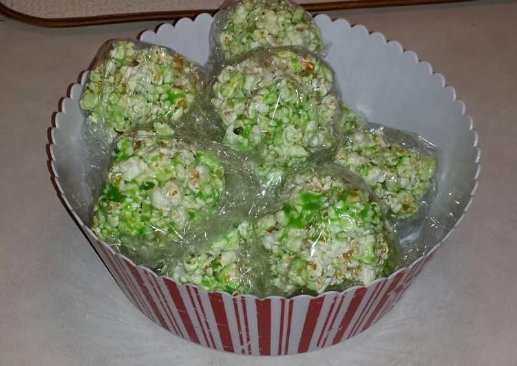 Aunt Jerry's Popcorn Balls