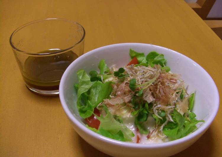 Simple Way to Prepare Favorite Healthy Thick and Silky Tofu Salad