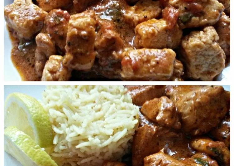 Sig's Friend, Butter Chicken and/or Vegetarian Recipe from Delhi