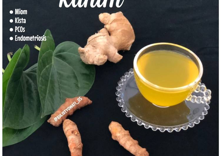 Resep Minuman Untuk Polip Rahim Miom Kista Pcos Endometriosis Oleh Sulis Tyowati Cookpad