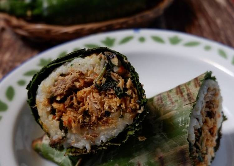Nasi Bakar Pampis Tongkol