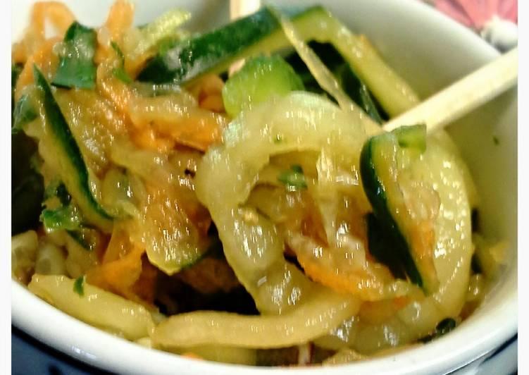 Pad Thai Cucumber Salad