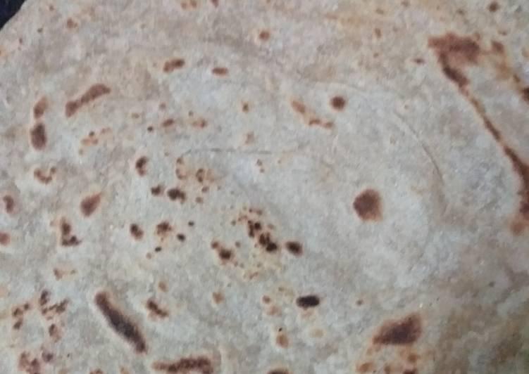 Wheat flour roti