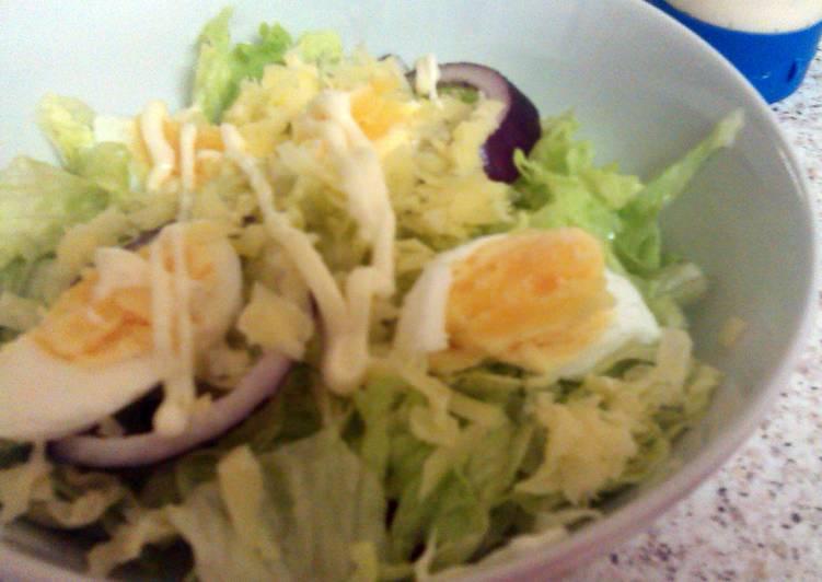 Menu to Prepare Homemade Guys Egg Salad