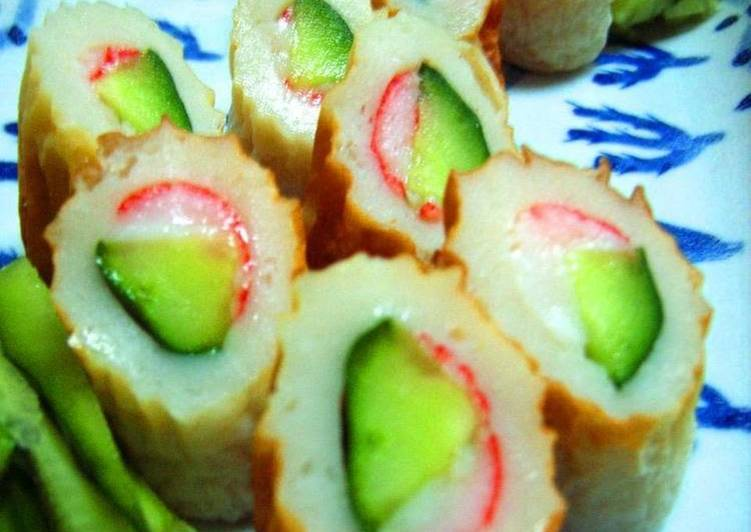 Recipe of Favorite Crab and Cucumber in Chikuwa Rolls (Toshi's Mom's Recipe)