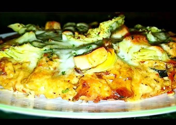 Mike's Gilroy Garlic Chicken Pizza