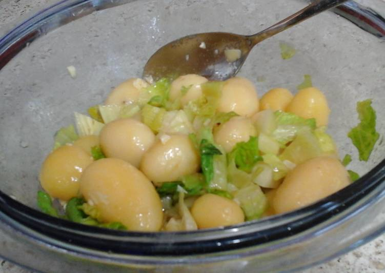 My Lemon Garlic Buttered New Potatoes 😄