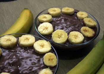 Easiest Way to Make Delicious Chocolate and banana pudding
