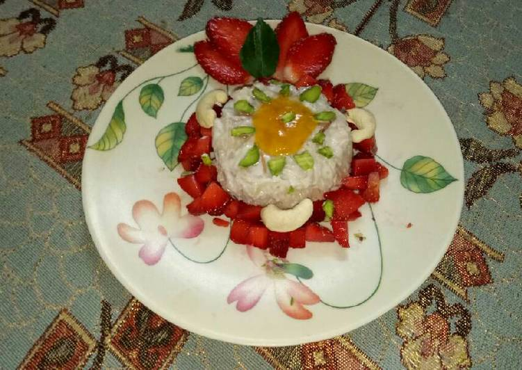 15 Minute Simple Way to Prepare Summer Vermicelli pudding