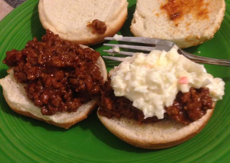 Recipe of Favorite Barbecued Beef On Buns (Sloppy Joes)