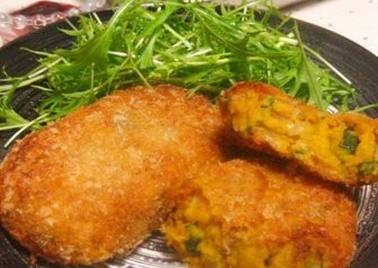 Step-by-Step Guide to Prepare Any-night-of-the-week Skin And All Kabocha Squash Croquettes