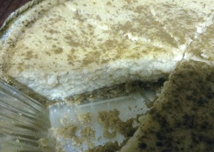 Dee's Easy Honeycrisp Apple cinammon cheesecake