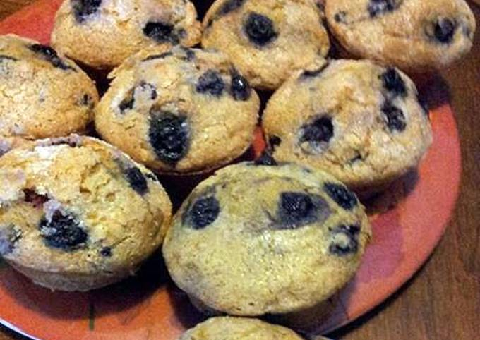 How to Make Appetizing Blueberry Muffins