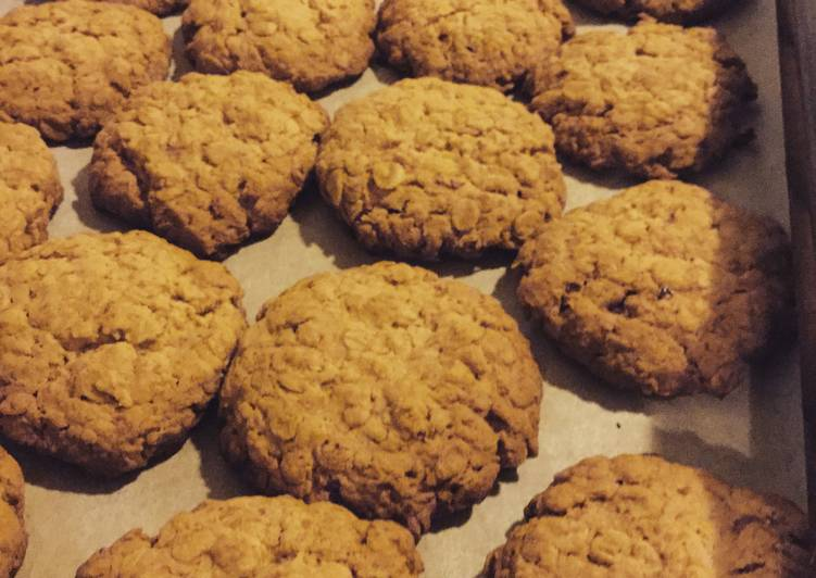 Anzac Biscuits x Rice Flour