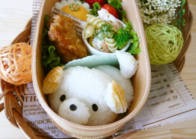 Bento with Tail-Wagging Puppy