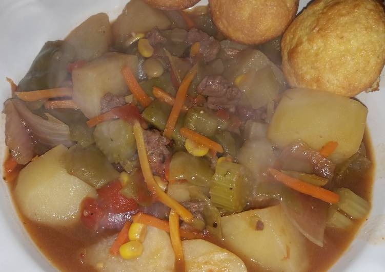 Easiest Way to Prepare Tasty Steve's beef stew